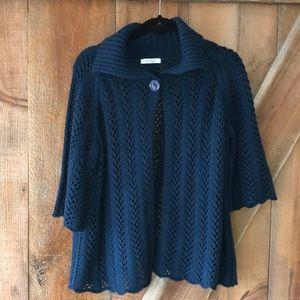 Dressbarn women's teal knit sweater size 18